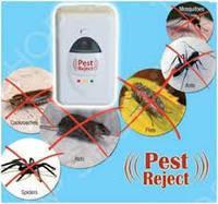 Ультразвуковой электромагнитный отпугиватель насекомых и грызунов Pest Reject (Пест Риджект (ОПТОМ)