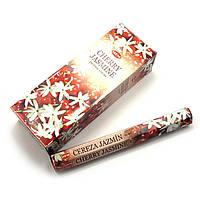 Благовоние Cherry Jasmine HEM 20шт/уп. Аромапалочки Вишня и жасмин (27689)