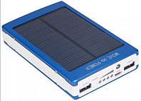 Solar Power Bank 10000 mAh +ЗАРЯДКА ОТ СОЛНЦА + 20led фонарик (ОПТОМ)