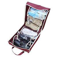 Органайзер для хранения обуви Shoe Tote Bag (ОПТОМ)