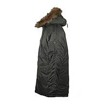 """Куртка N3B """"Зимове сонце"""" (Аляска) оливкова, фото 2"""