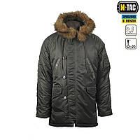 """Куртка N3B """"Зимнее солнце"""" (Аляска) оливковая"""
