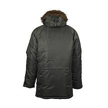 """Куртка N3B """"Зимнее солнце"""" (Аляска) оливковая, фото 3"""