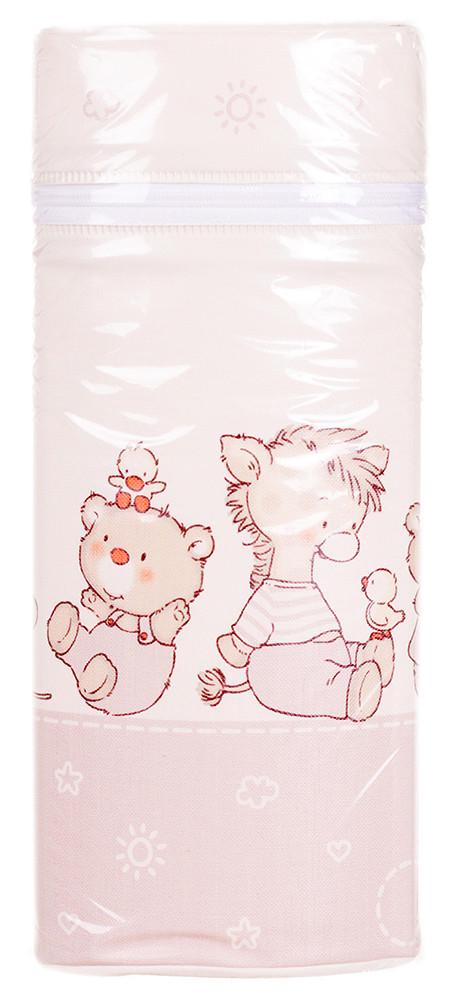 Термоконтейнер Ceba Baby Jumbo 70*80*230мм универсальный  беж-капучино (мишка,утка,ослик,ежик,слон,мышка)