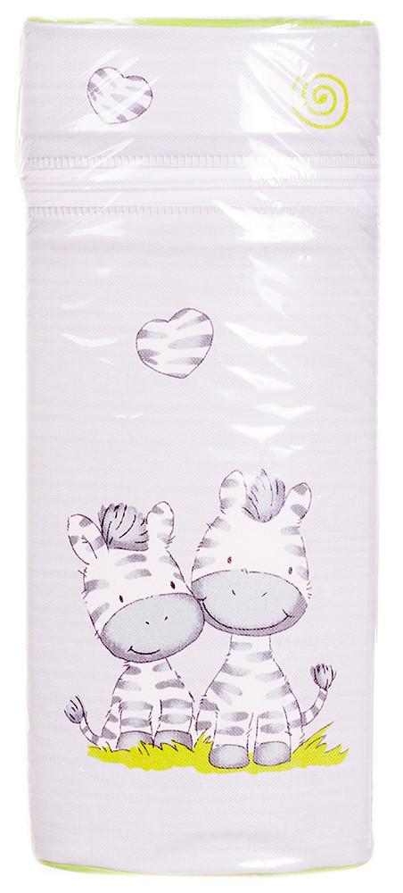 Термоконтейнер Ceba Baby Jumbo 70*80*230мм универсальный  серый (зебры)