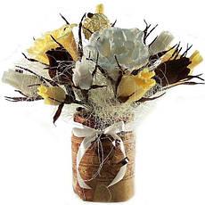 Букет из конфет Кофейный 15 4057, фото 3