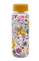 """Бутылка для воды 500мл """"Smiles"""" 706025"""
