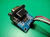 Конвертер 5V MAX3232 RS232 DB9 - TTL
