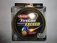 Леска плетеная Berkley FireLine 110м оригинал 0,20 мм салатовая