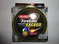 Леска плетеная Berkley FireLine 110м оригинал 0,10 мм черная