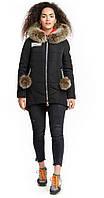 Куртка черная с бубонами(вст)