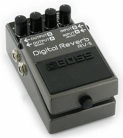 Педали эффектов Delay, Reverb