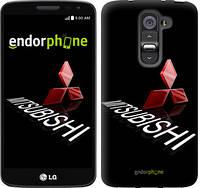 """Чехол на LG G2 mini D618 Mitsubishi. Logo v3 """"3128u-304-6129"""""""