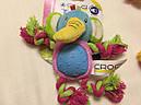 Игрушка для собак Croci зверюшка плюшевая с канатиками, фото 3