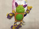 Игрушка для собак Croci зверюшка плюшевая с канатиками, фото 4