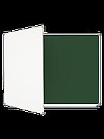 Школьная доска магнитная комбинированная, 3-пов. (300x100), в алюм.рамке