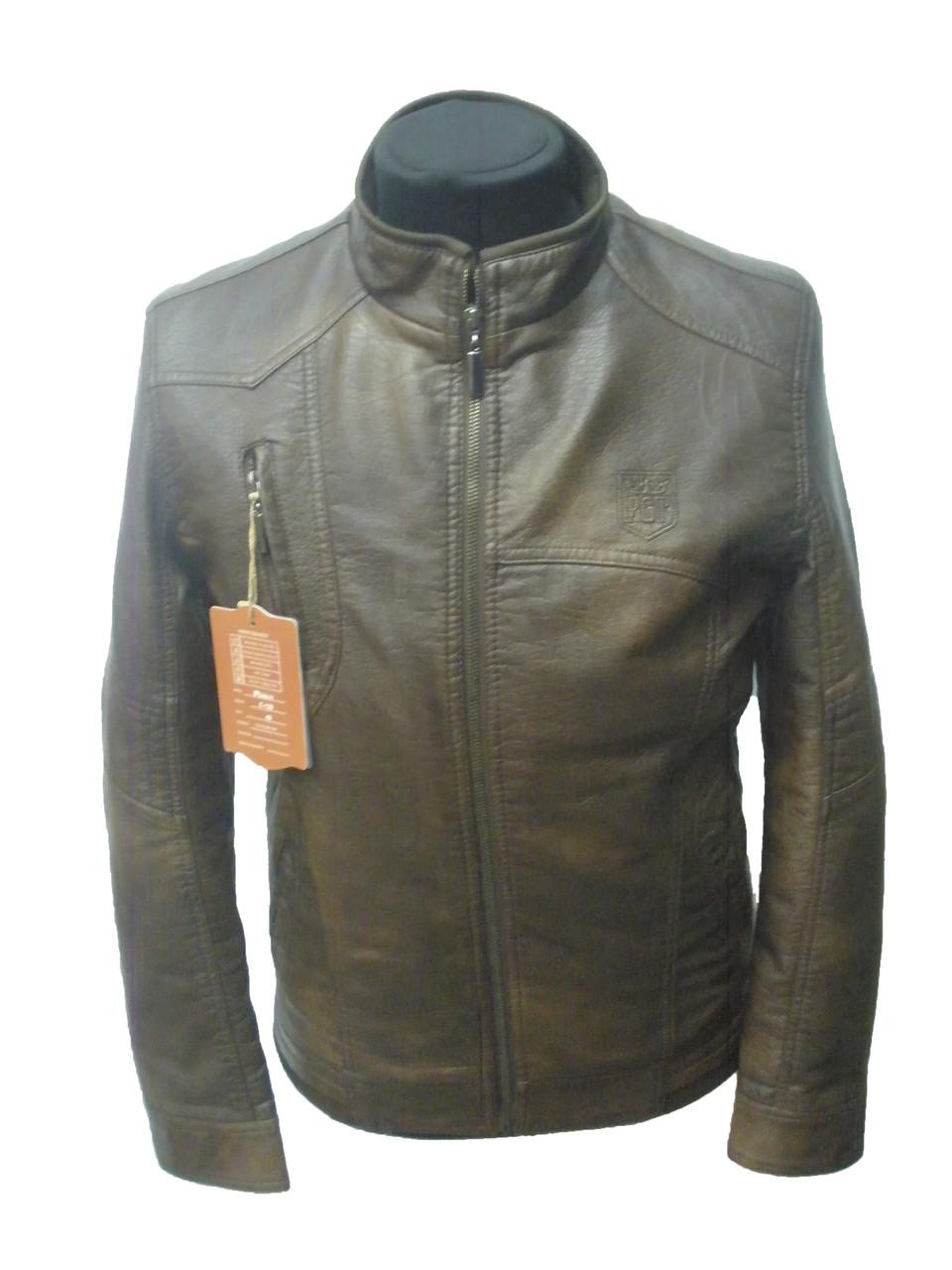 Куртка мужская коричневая-демисезонная