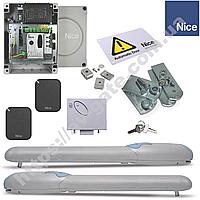 Комплект автоматики Nice для распашных ворот (створка до 2 м) Wingo 2024 KCE