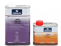 Лак автомобильный акриловый ROBERLO HS 350 ELITE 1л + отвердитель 356 0,5л