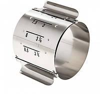 Форма для гарнира регулируемая круглая 7х8,5х6 см. нержавеющая сталь