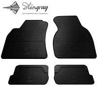Резиновые коврики Stingray для Audi A6 (C5) 1997-2004 - комплект 4 шт.