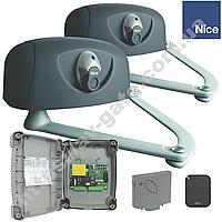 Комплект автоматики Nice для распашных ворот (створка до 3 м) HY 7005 KLT