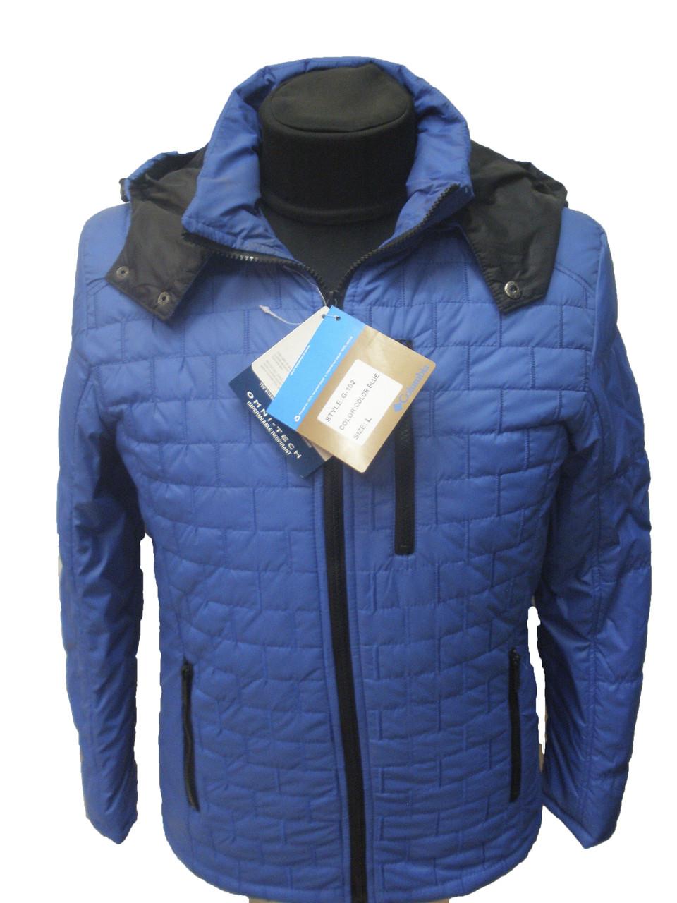 Куртка мужская синего цвета