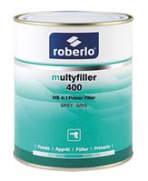 Грунт-наполнитель Roberlo MultyFiller  400 серый 4+1, 1л