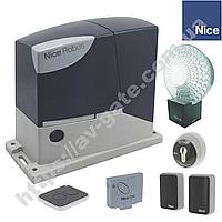 Комплект автоматики Nice для отканых ворот (ширина до 7 м) RB 400 KCE