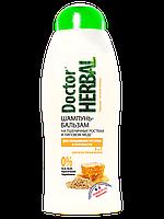 Dr Herbal  Шампунь-бальзам  «На пшеничних зародках та липовому меду» 400 мл