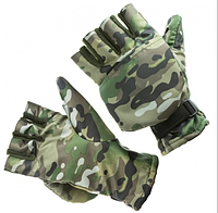 Перчатки - варежки Select комуфляж