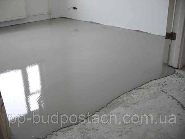Як зробити наливна підлога самому