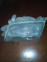Фара левая Toyota carina 1996г.