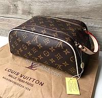 Женская косметичка сумочка Louis Vuitton Луи Виттон