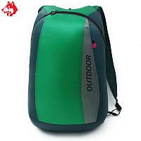 Ультралегкий складной рюкзак Jungle King 20L зеленый, фото 1