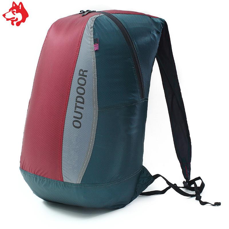 Ультралегкий складной рюкзак Jungle King 20L фиолетовый