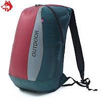Ультралегкий складной рюкзак Jungle King 20L красный