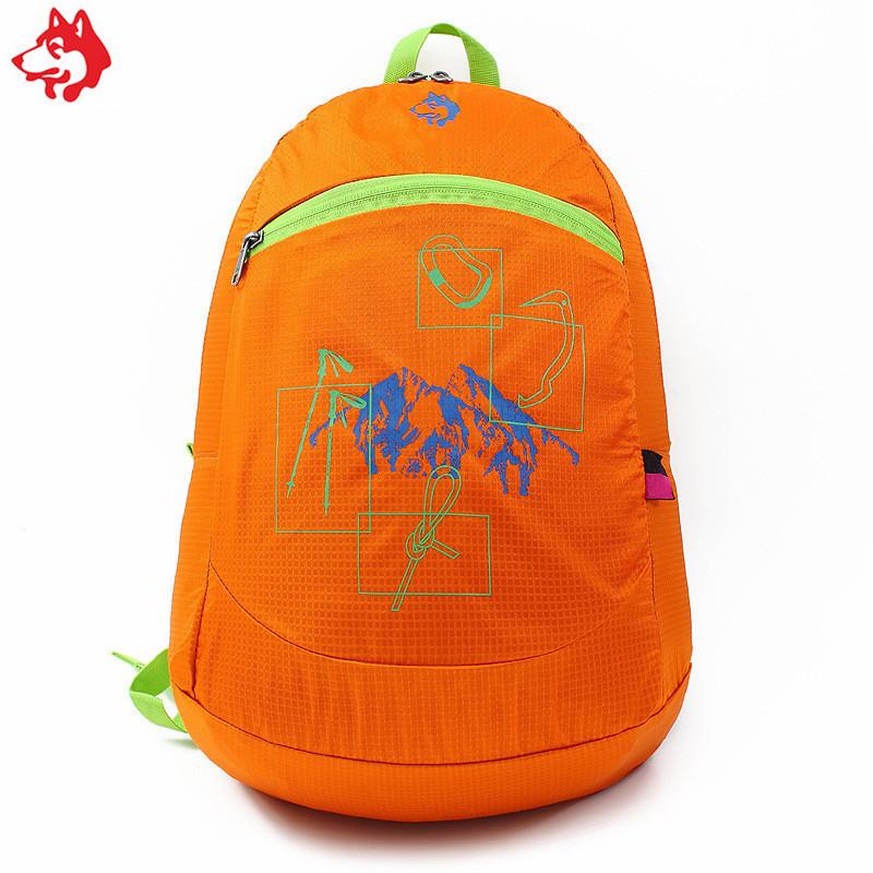 Ультралегкий складной рюкзак Jungle King 20L оранжевый