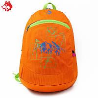 Ультралегкий складной рюкзак Jungle King 20L оранжевый, фото 1