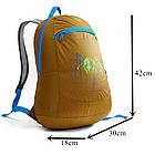Ультралегкий складной рюкзак Jungle King 20L оранжевый, фото 2