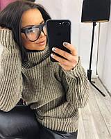 Женский вязанный свитер, фото 1