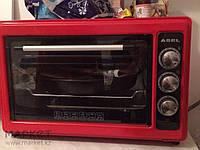 Электрическая Духовка Asel AF-0023 с Таймером  (33 л) красная