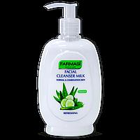 Молочко для снятия макияжа Farmasi Cleanser Milk Cucumber