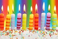 Свечи в торт (фигурки, буквы, разноцветные, цифры)