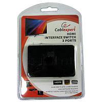 Переключатель HDMI сигнала Cablexpert DSW-HDMI-34 на 3порта HDMI v.1.4