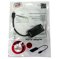 Переходник  Cablexpert  A-MHL-002,HDTV,5-pin; microUSB(вилка)-HDMI(розетка)