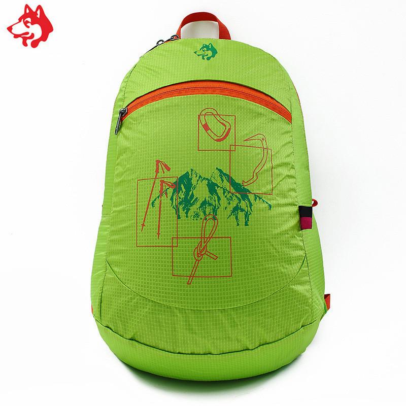 Ультралегкий складной рюкзак Jungle King 20L зелёный