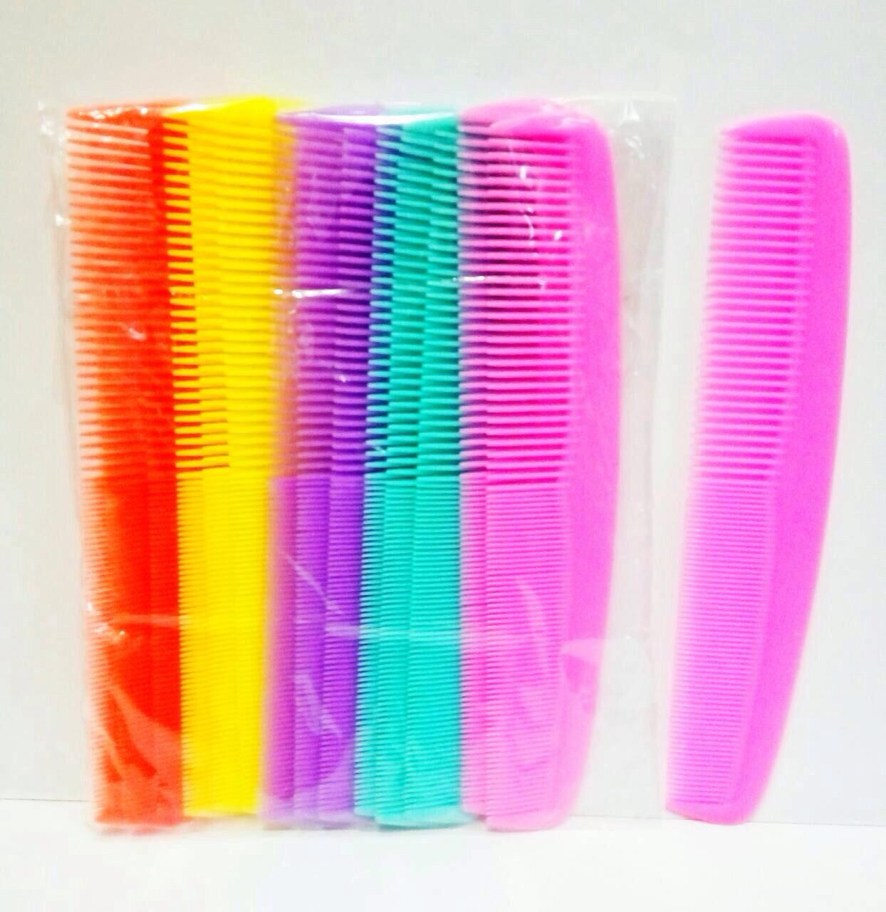 Расчёска-гребень с комбинированными зубцами, 25шт.