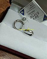 Серебряные серьги 925пробы.