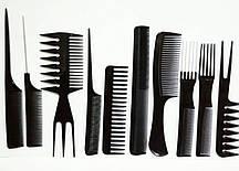 Комплект расчёсок для волос, набор 10 шт.